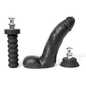 Boneyard Silicone Tool Kit Dildo With Balls - 8 Inch-0